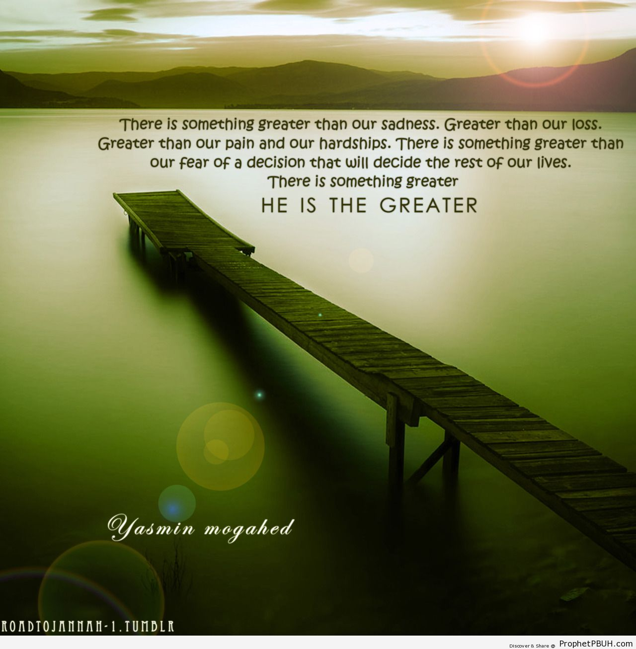 He is the Greatest - Islamic Quotes, Hadiths, Duas-001