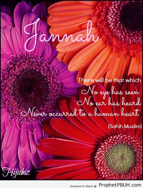 Jannah should be our driving force to... - Islamic Quotes, Hadiths, Duas