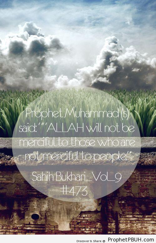 Mercy Shared viaA Rashedul Islam - Islamic Quotes, Hadiths, Duas