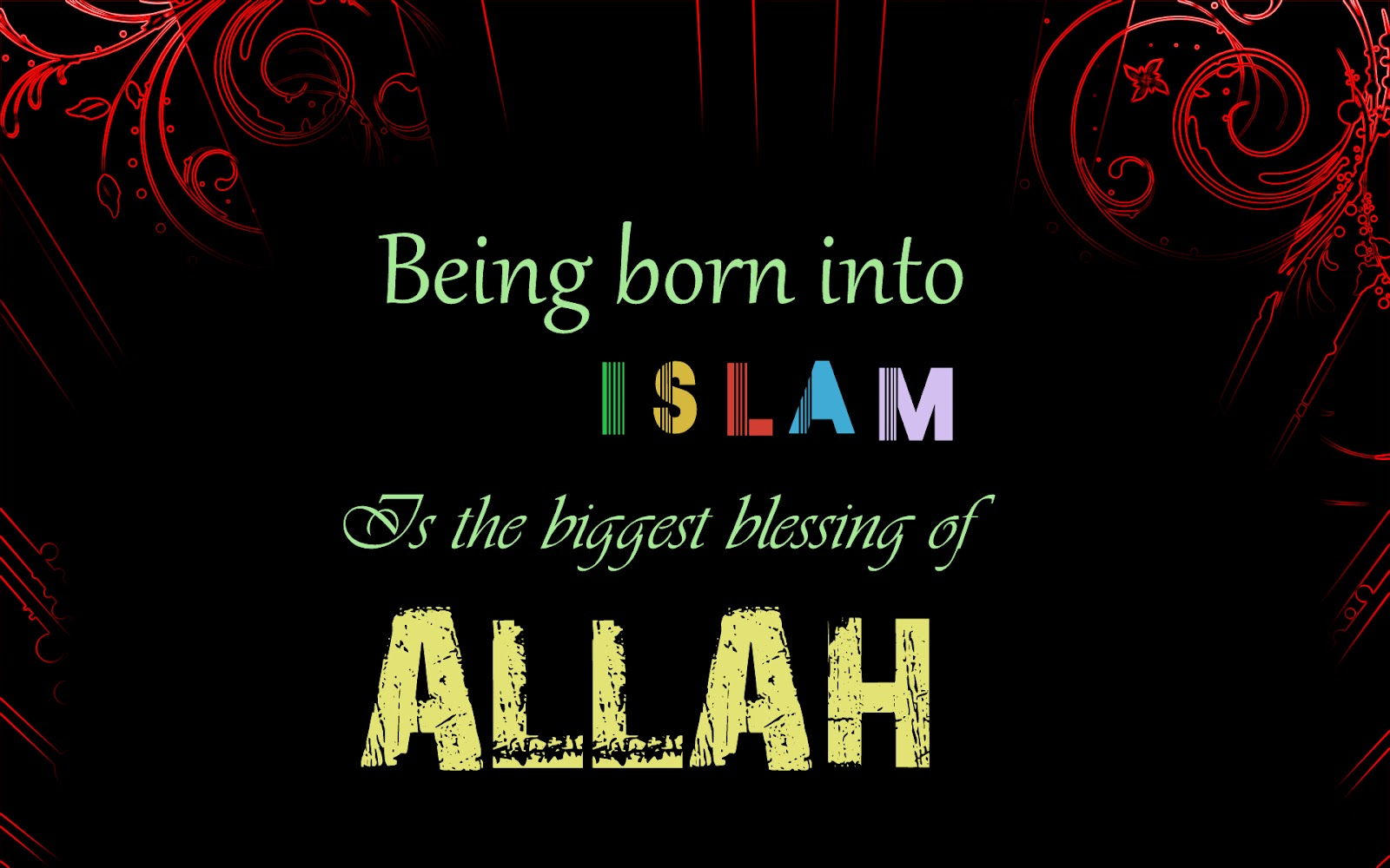 Biggest blessing of Allah SWT