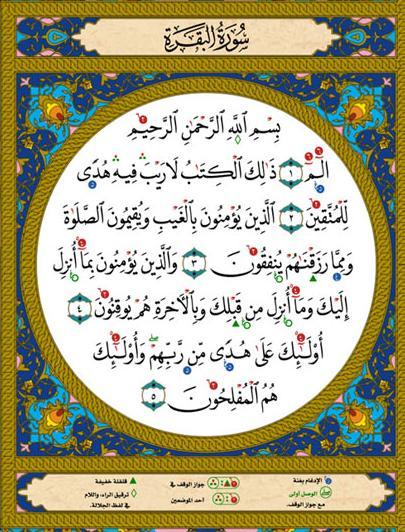 Surah Baqarah 1st Few Verses