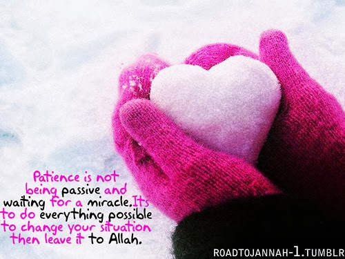 Islamic Quote about Patience