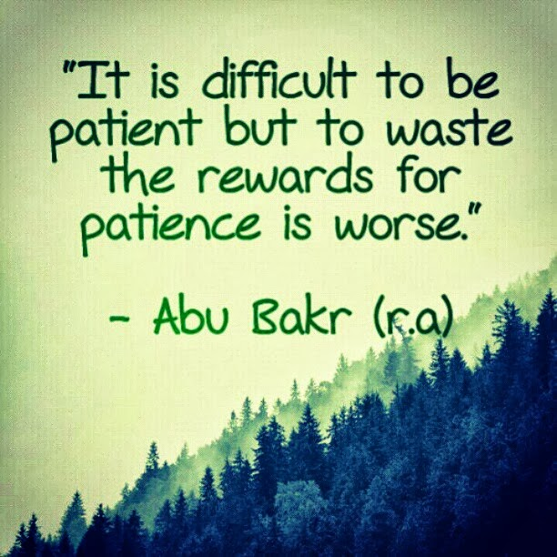 Islamic Quotes on Patience