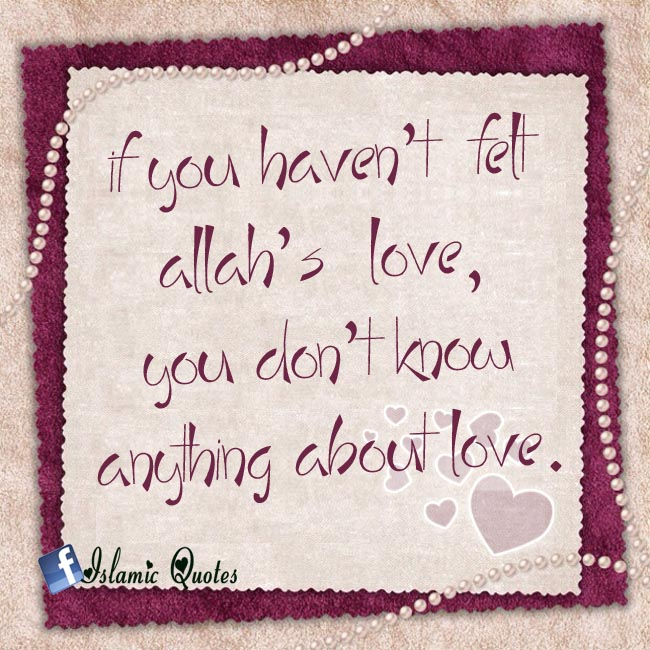 True Love is Love for Allah SWT