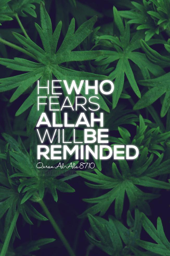 Quranic Reminder Verse