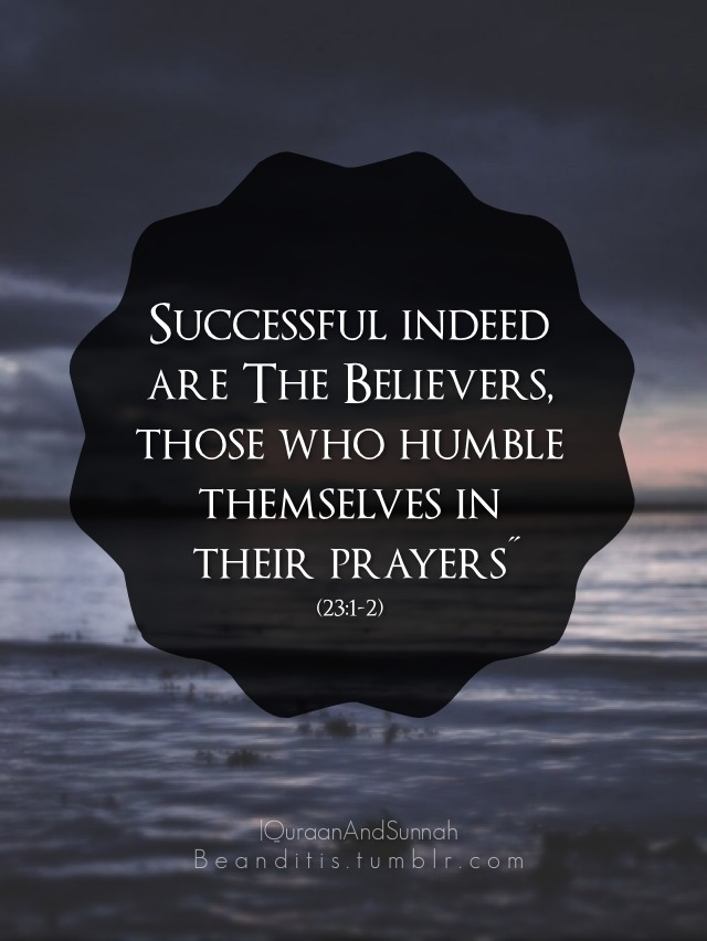 Quran Verse on Success and Prayer