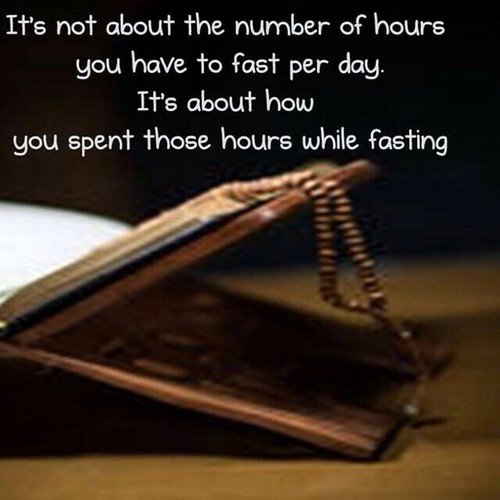 Quote about Fasting