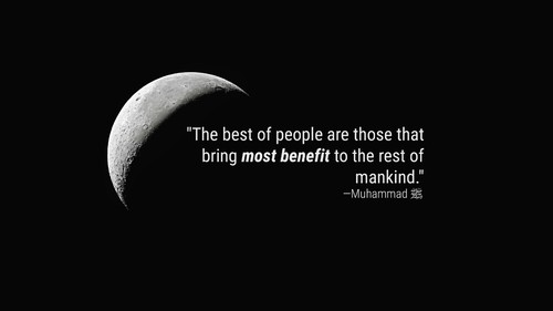 Prophet Muhammad PBUH Quote on the best of people