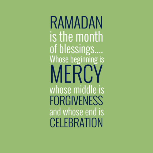 Ramadan is the month of blessings