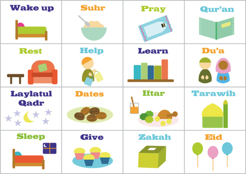 Things to do during Ramadan