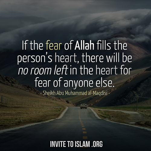 Fear of Allah SWT