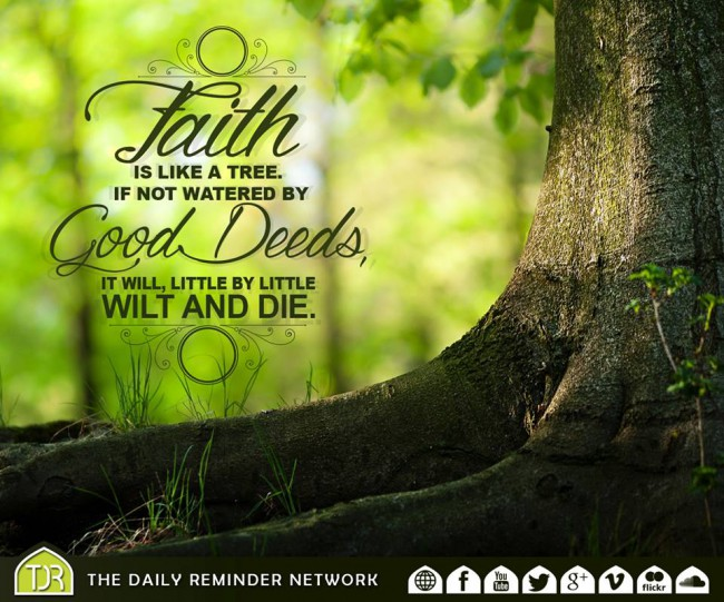 Faith is Like a Tree..