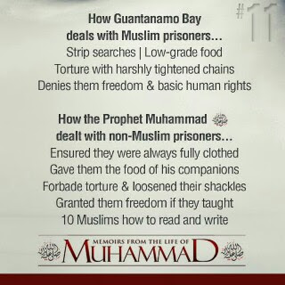 How Prophet Muhammad PBUH dealt with non-Muslim Prisoners.