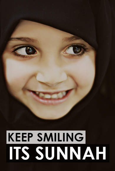 Smiling is Sunnah :)