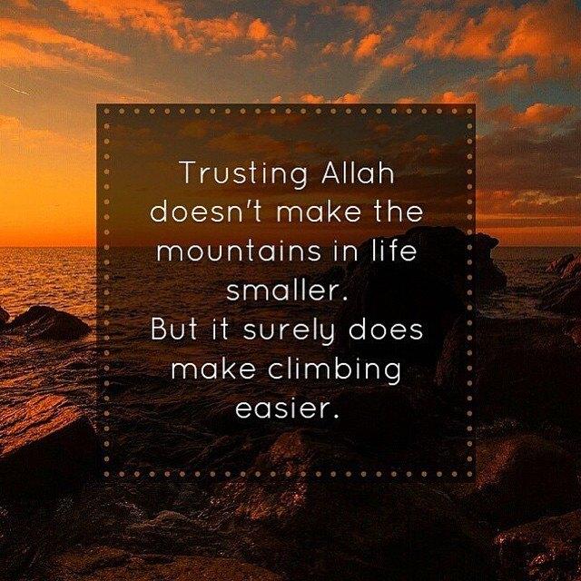 Trust in Allah SWT