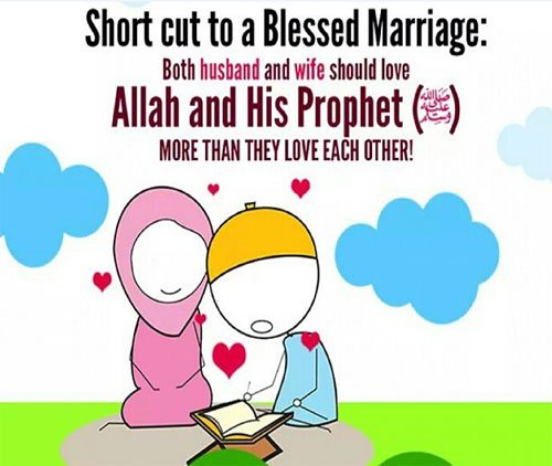 Short cut to a blessed marriage