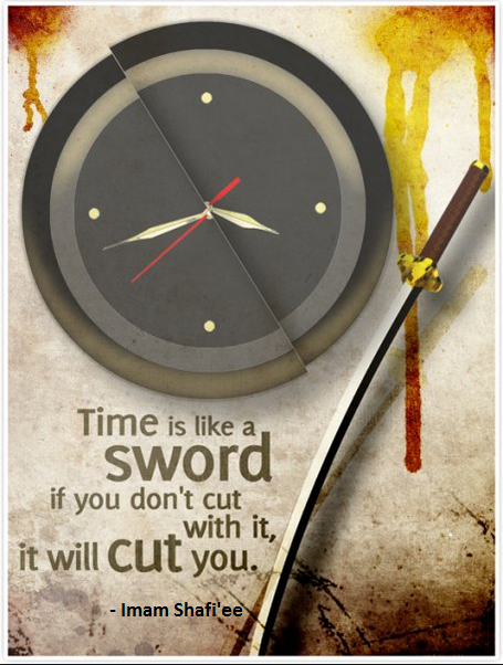 Time is like a sword...