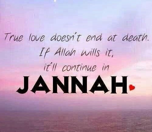 True Love and Jannah