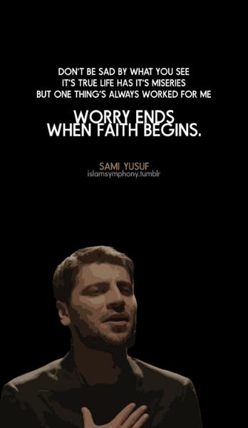 Sami Yusuf quote