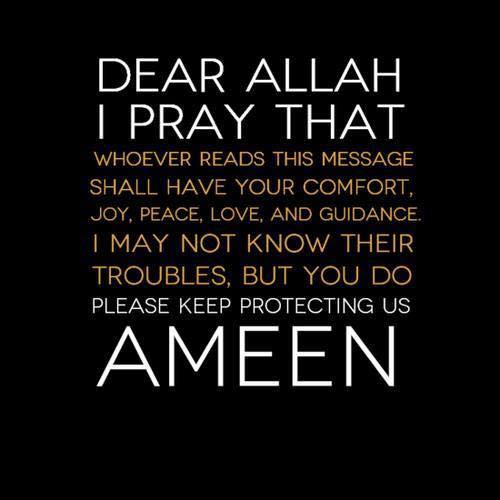 Allahuma Ameen