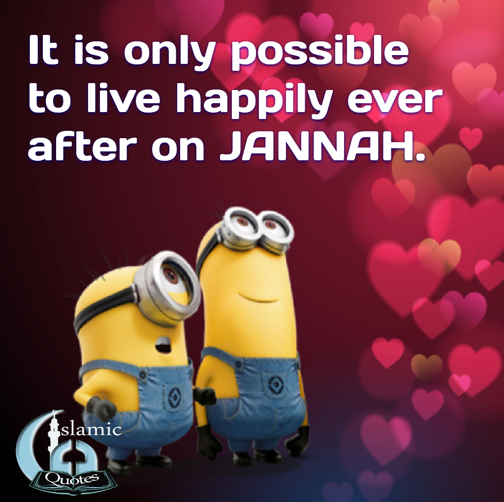 Happily ever after in Jannah iA