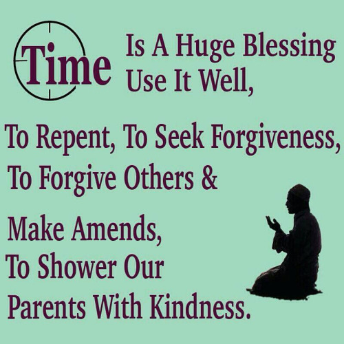 Blessing of Time