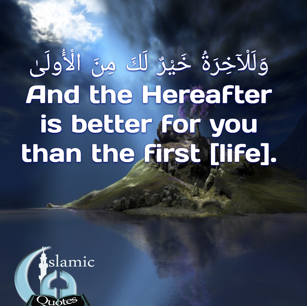 Hereafter is better