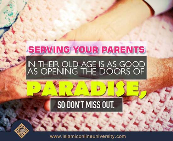 Serving Parents and Paradise