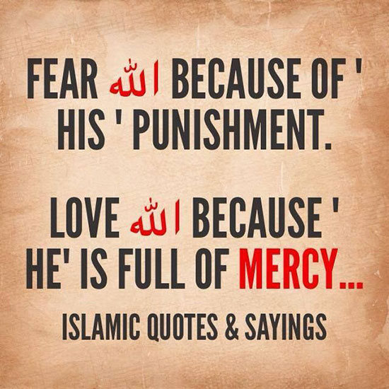 Fear Allah, Love Allah