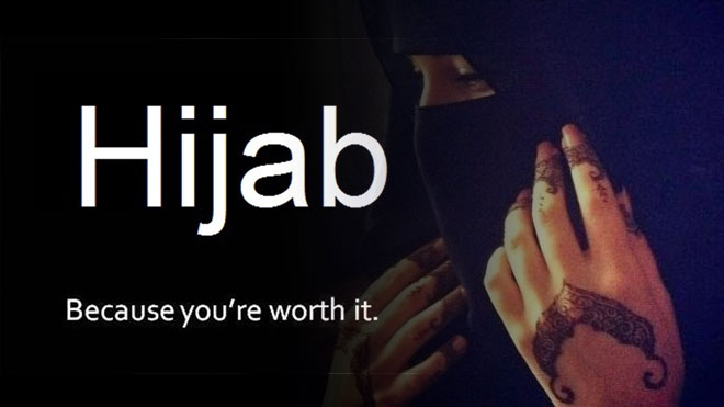 Hijab because you're worth it