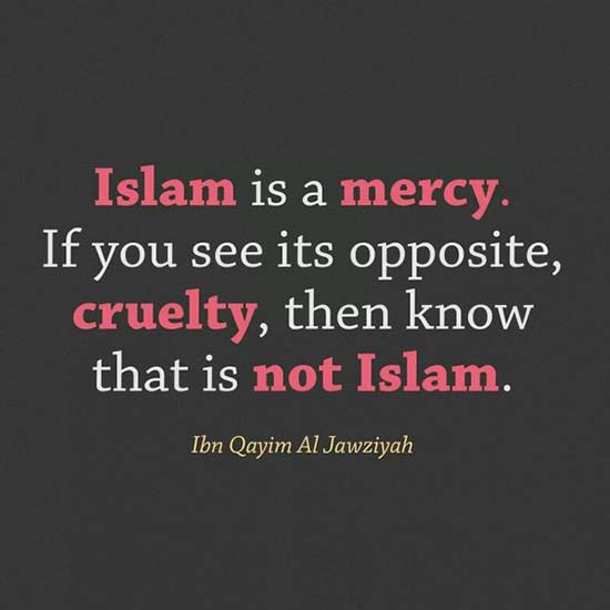 Islam is a mercy