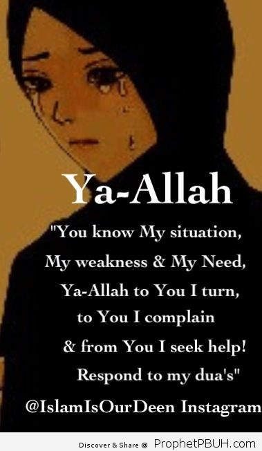 To remind you turn to your maker the al mighty for help and he will guide you inshallah