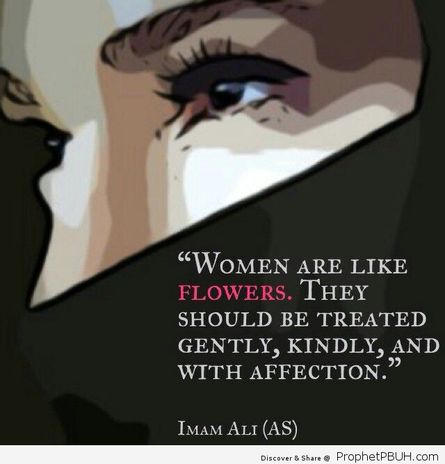 Yes It is written in the Quran be good to your women