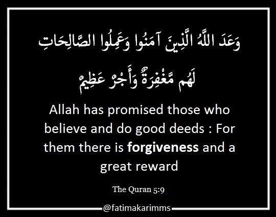 Forgiveness of Sins in Islam