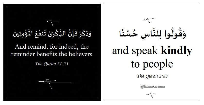 speak kindly to people