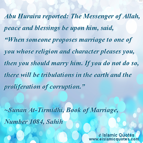Islamic quotes on marriage
