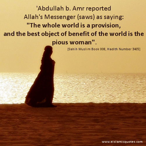 Islamic quote on women