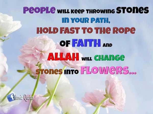 Islamic Quotes, Hadiths, Verses
