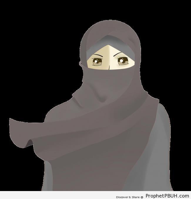 Anime Niqabi - Drawings