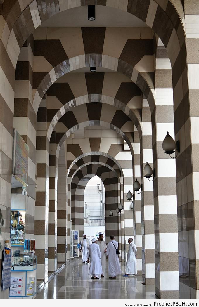 Arches in the City of Madinah - Islamic Architecture