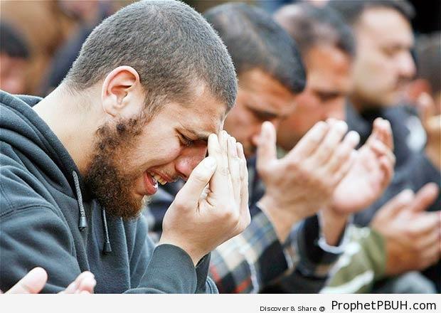 Ardent Prayers - Photos of Male Muslims