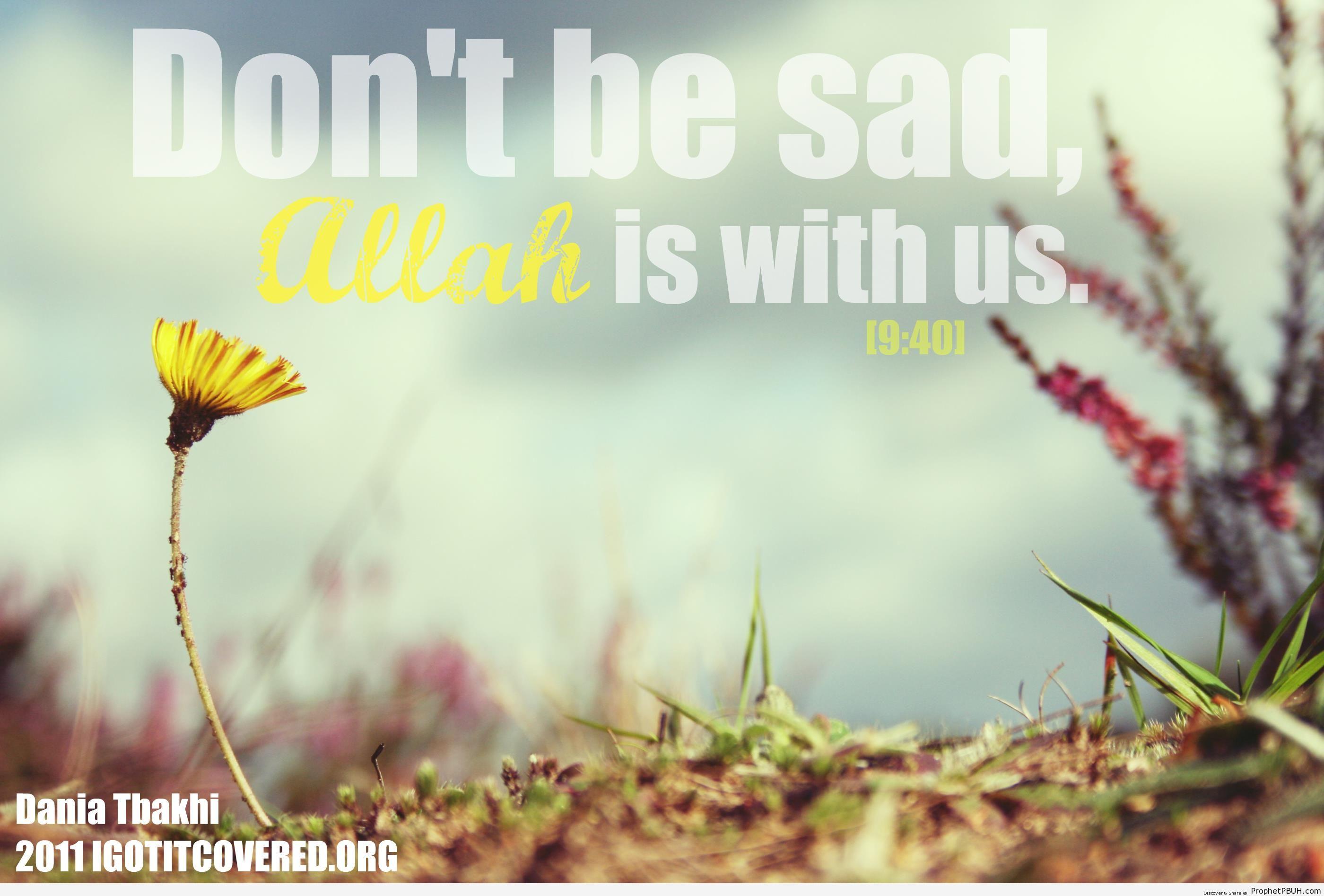 Don-t be sad - Artist- Dania Tbakhi