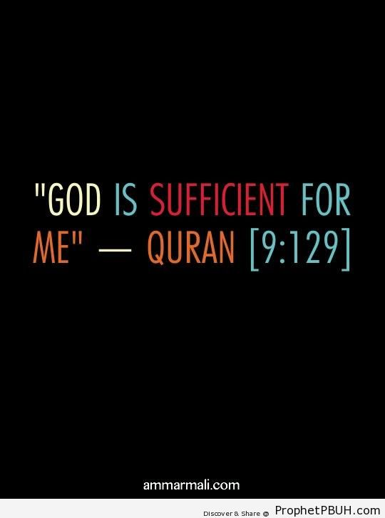 God is Sufficient - Quran 9-129