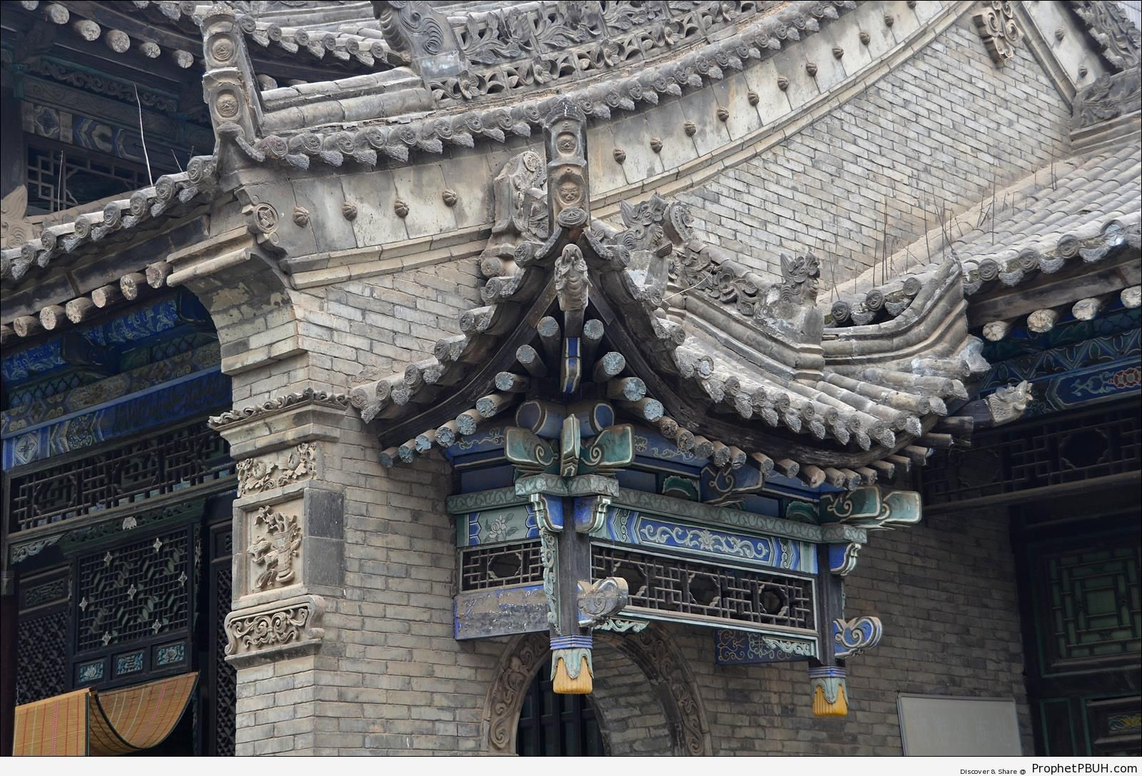 Great Mosque of Xi-an in Xi-an, China - China -Picture