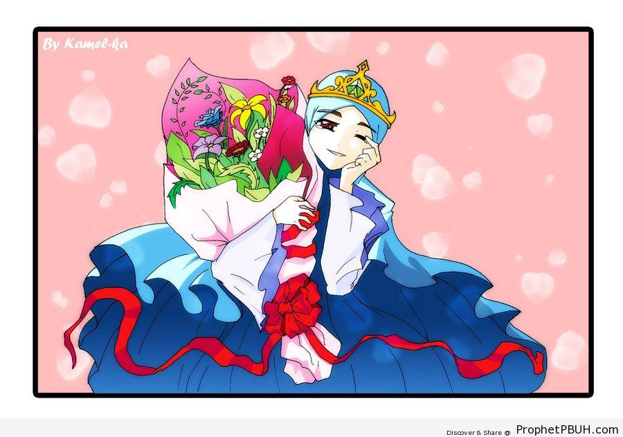 Hijabi Princess - Drawings