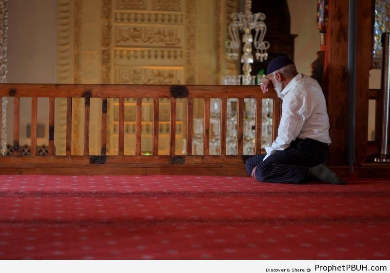 Inside Haci Bayram Mosque in Ankara, Turkey - Ankara, Turkey -Picture