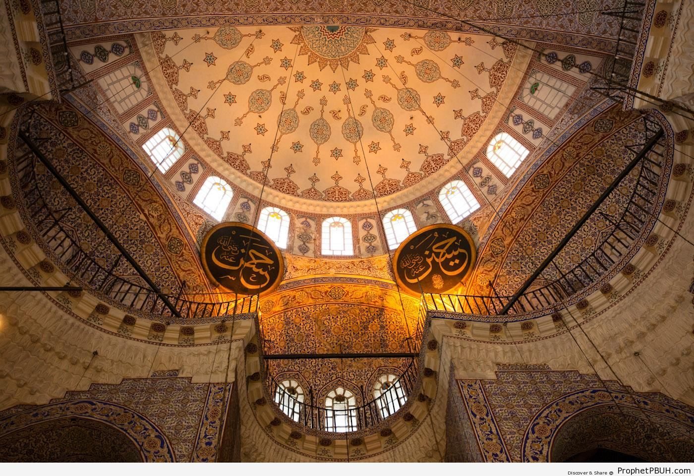 Inside Istanbul-s Blue Mosque - Islamic Architecture -Picture
