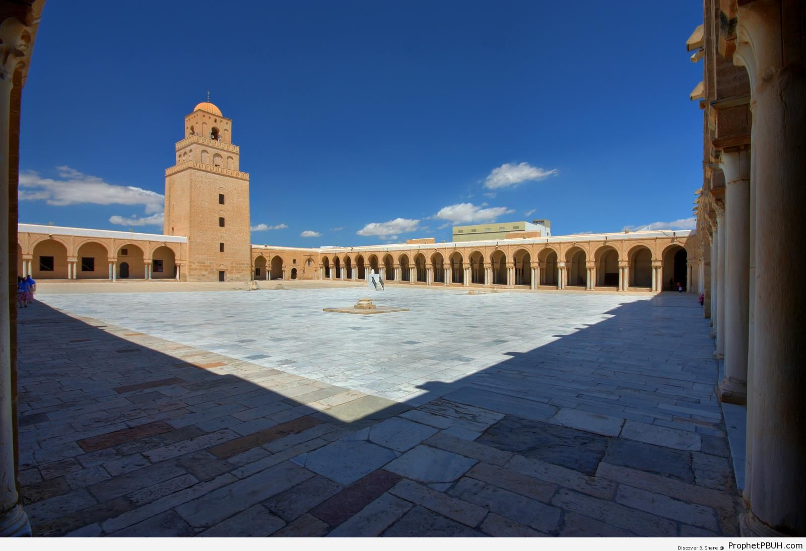 Mosque of Uqba (The Great Mosque of Kairouan) in Kairouan, Tunisia - Islamic Architecture