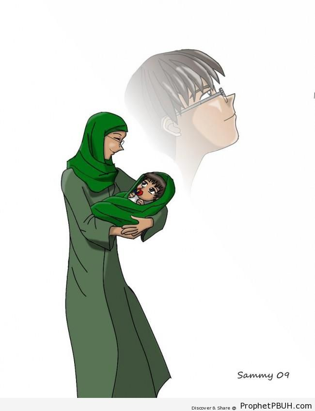Mother and Child - Drawings