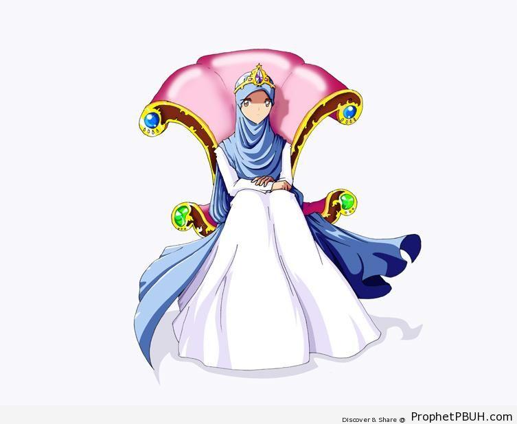 Muslimah Princess - Drawings